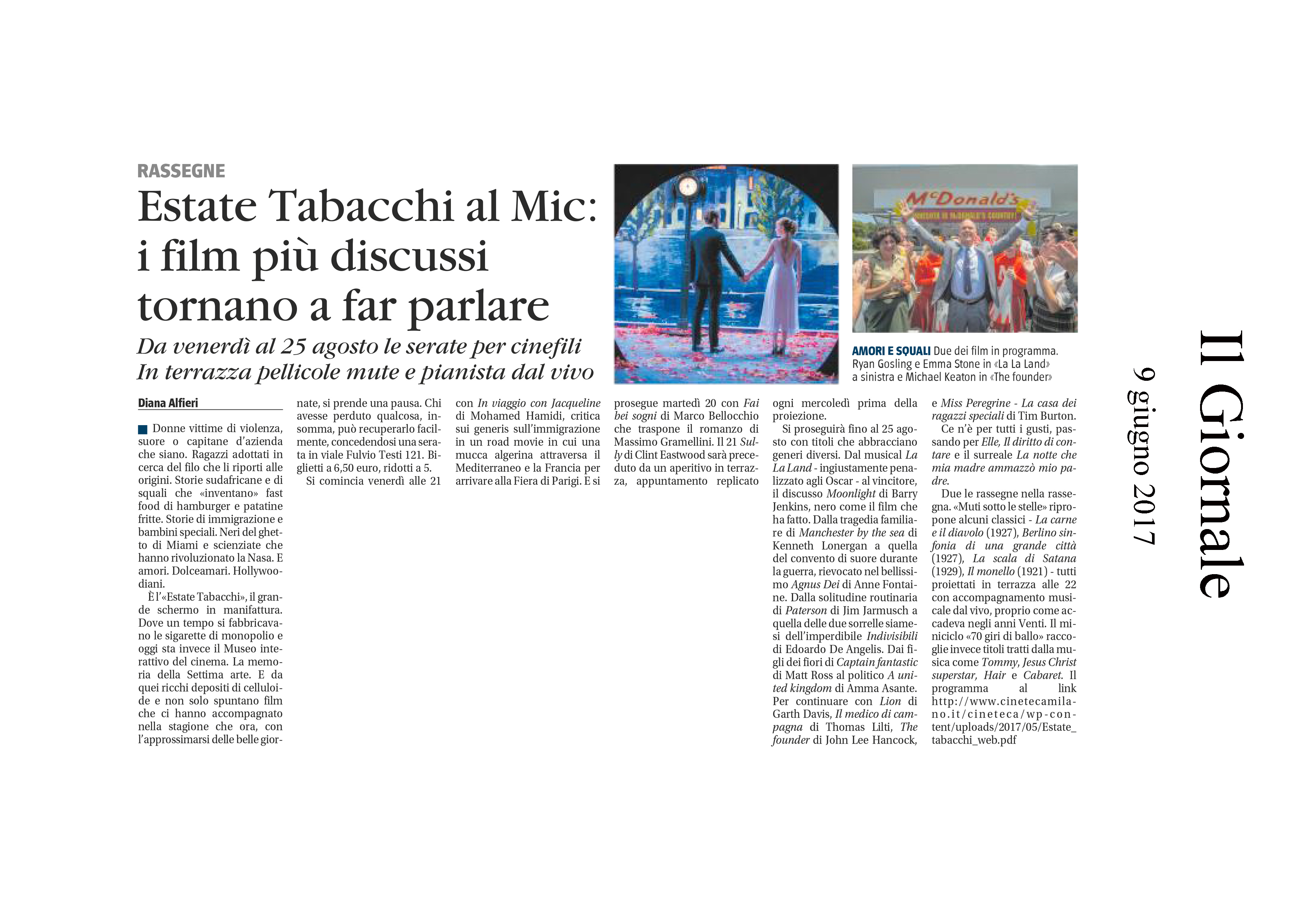 Estate Tabacchi al Mic: I film più discussi tornano a far parlare