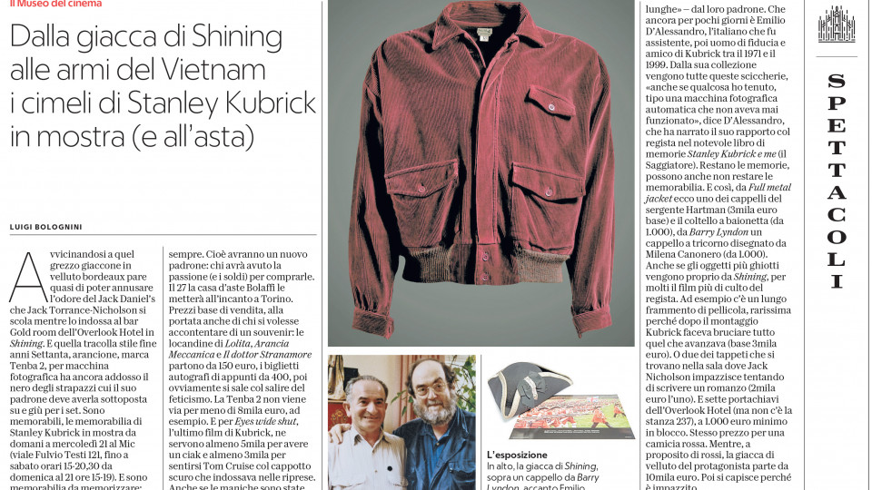 Stanley Kubrick - The Exhibition
