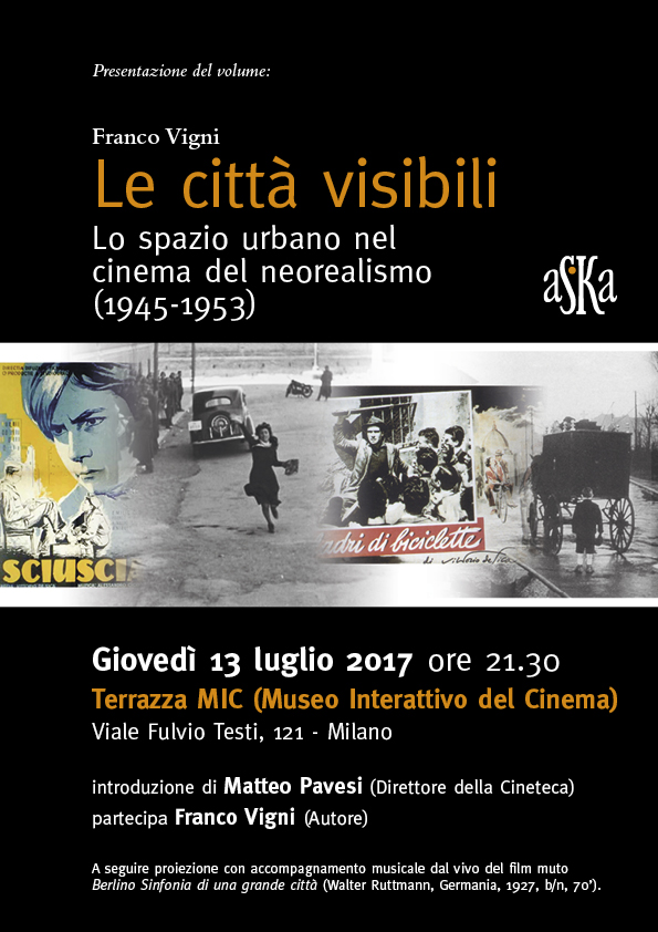 Cineteca Milano - Estate Tabacchi 2017